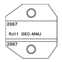 Paladin Tools PA2067 1300/8000 Series DEC-MMJ Die