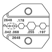 Paladin Tools PA2648 1300/8000 Series HDTV Mini-Coax Die