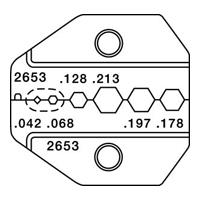 Paladin Tools PA2653 1300/8000 Series Mini-Coax Die