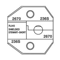 Paladin Tools PA2670 1300/8000 Series Stewart RJ45 STP Short Die