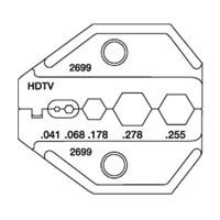 Paladin Tools PA2699 1300/8000 Series HDTV Universal Die
