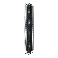 """Panduit PRVF8 Vertical cable manager, Dimensions: 83.9""""H x 8.0""""W x 9.7""""D 45"""