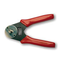 """Platinum Tools 13015 4-Way, 12 Point Indent Crimp Tool"""