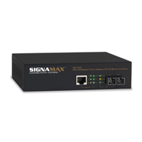 """Signamax 065-1052SC 10/100 to 100FX MM/ST, 2km PD Converter"""