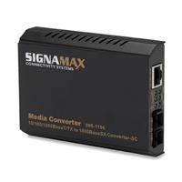 Signamax 065-1196A 10/100/1000BaseT/TX To 1000BaseSX/LX Converter