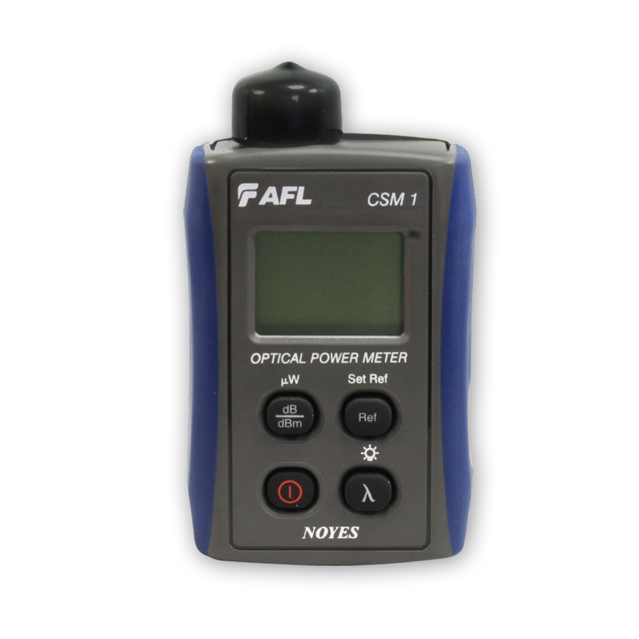 AFL Fiber Tester - CSM1-2 Contractor Series Optical Power Meter