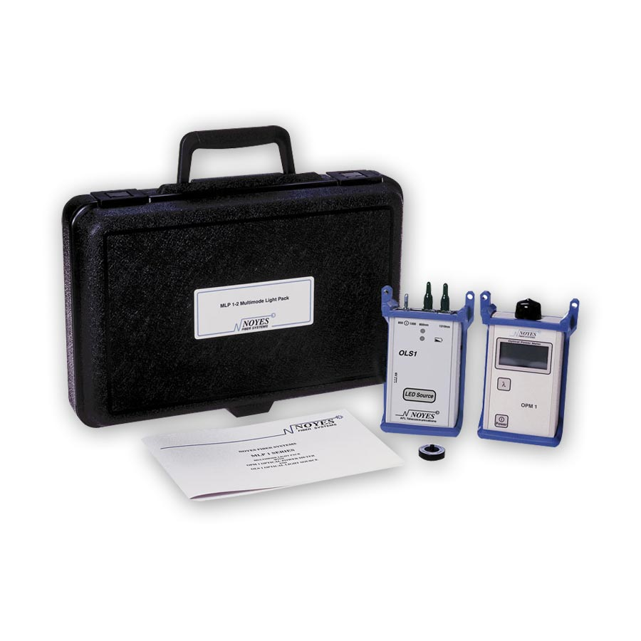 AFL Fiber Tester - Noyes MLP1 Fiber Optic Loss Test Kit