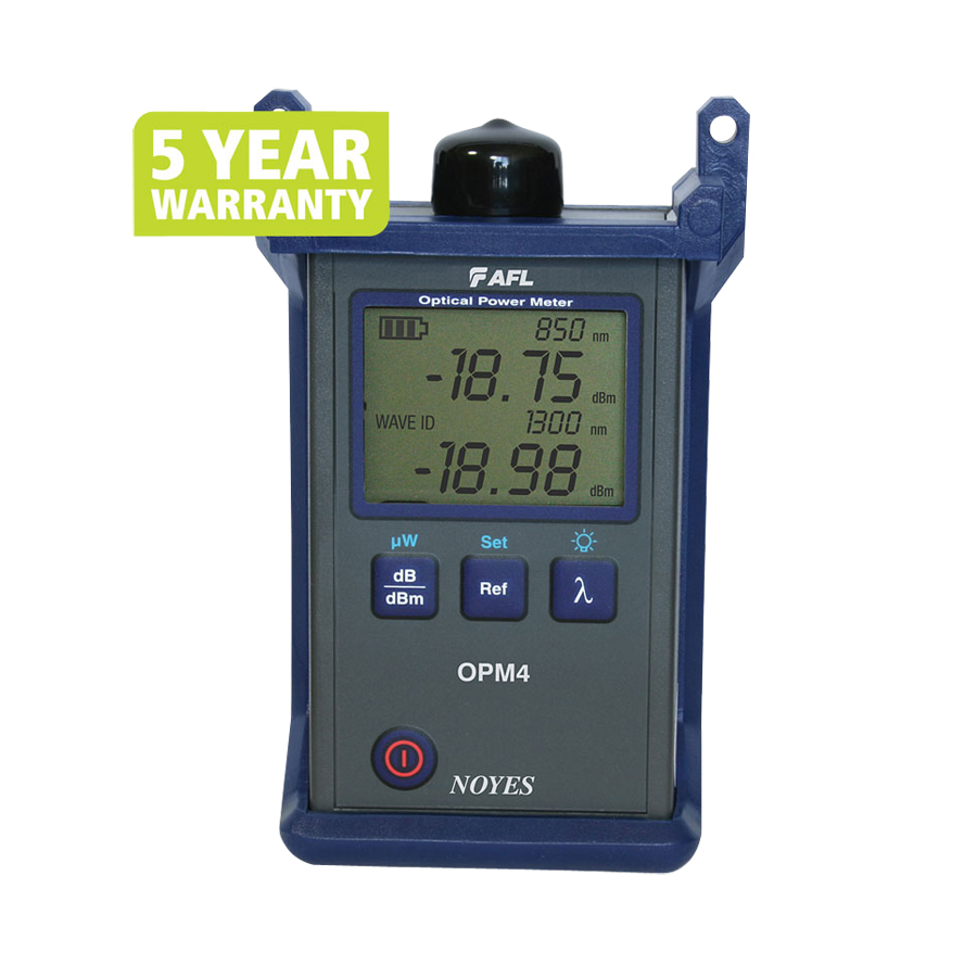 AFL Fiber Tester - Noyes OPM 4-2D Optical Power Meter