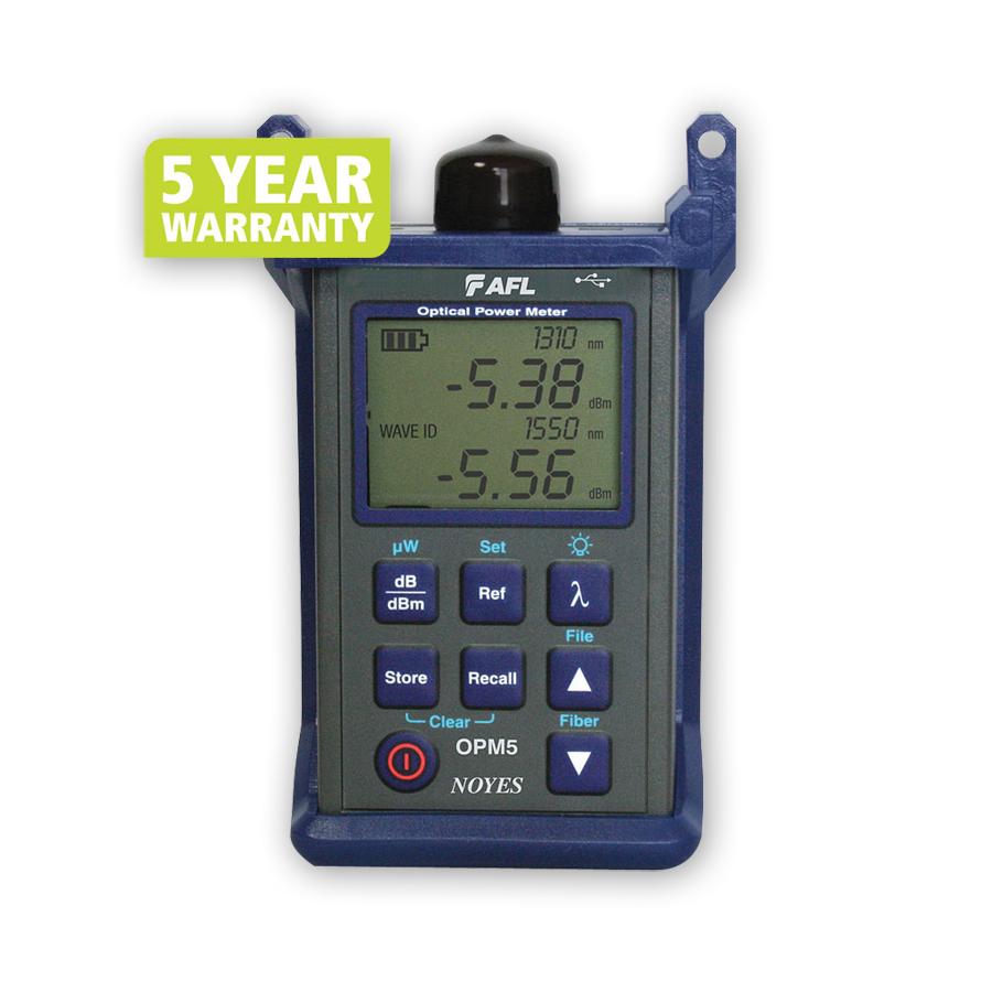 AFL Fiber Tester - Noyes OPM 5-4D Optical Power Meter