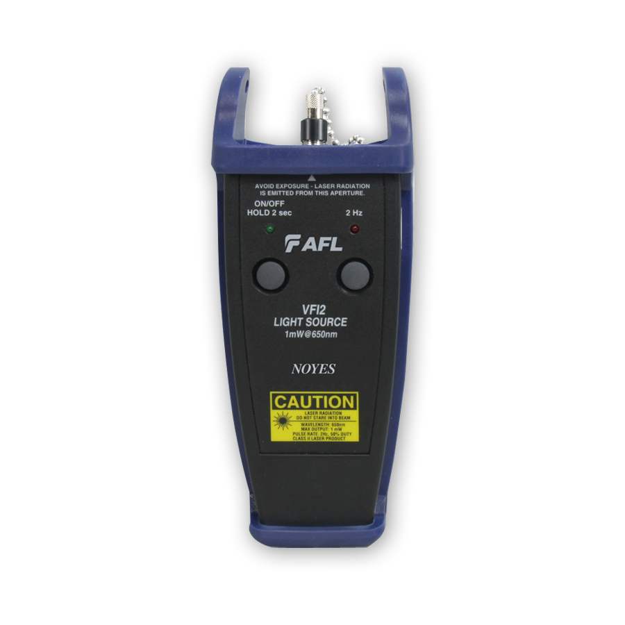 Noyes VFI2  VFI2-00-0900PR Fiber Visual fault identifier with 2.5 mm Universal Connector