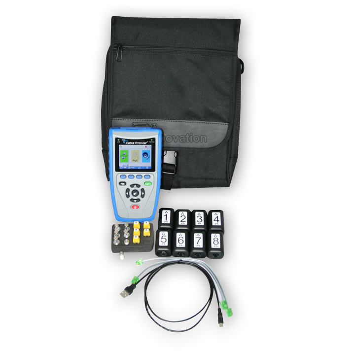 T3 Innovation CB350 Cable Prowler Cable Tester & Report Management Kit 2