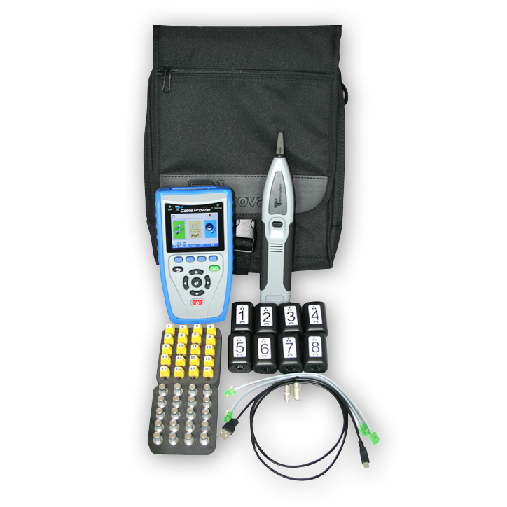 Platinum Tools CB400 Cable Prowler Cable Tester & Report Management Kit 3