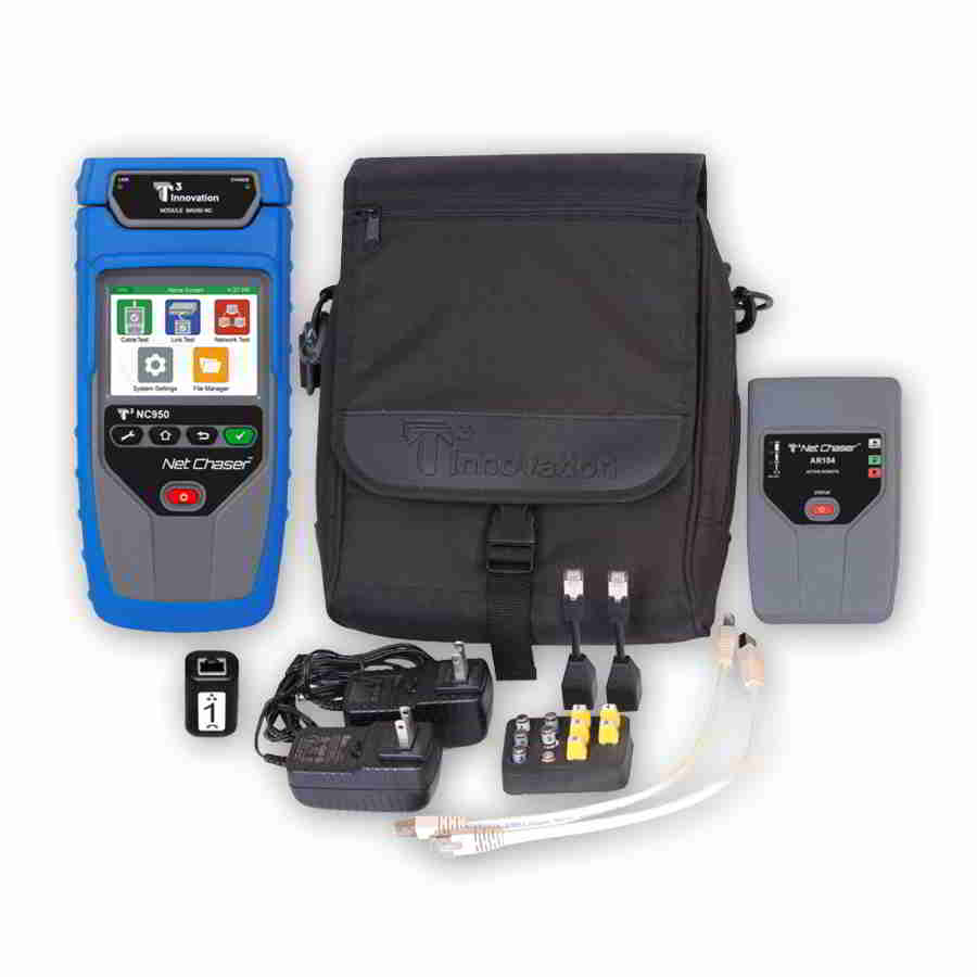 T3 Innovation NC950-AR Net Chaser with an Active Remote in a T3 large pouch