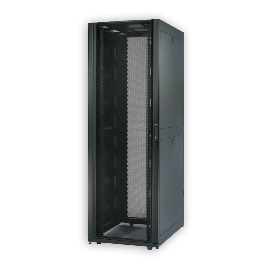 APC AR3155 NetShelter SX 45U 750mm Wide x 1070mm Deep Enclosure with Sides Black