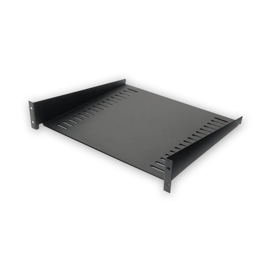 APC AR8105BLK Fixed Shelf 50lbs/22.7kg Black