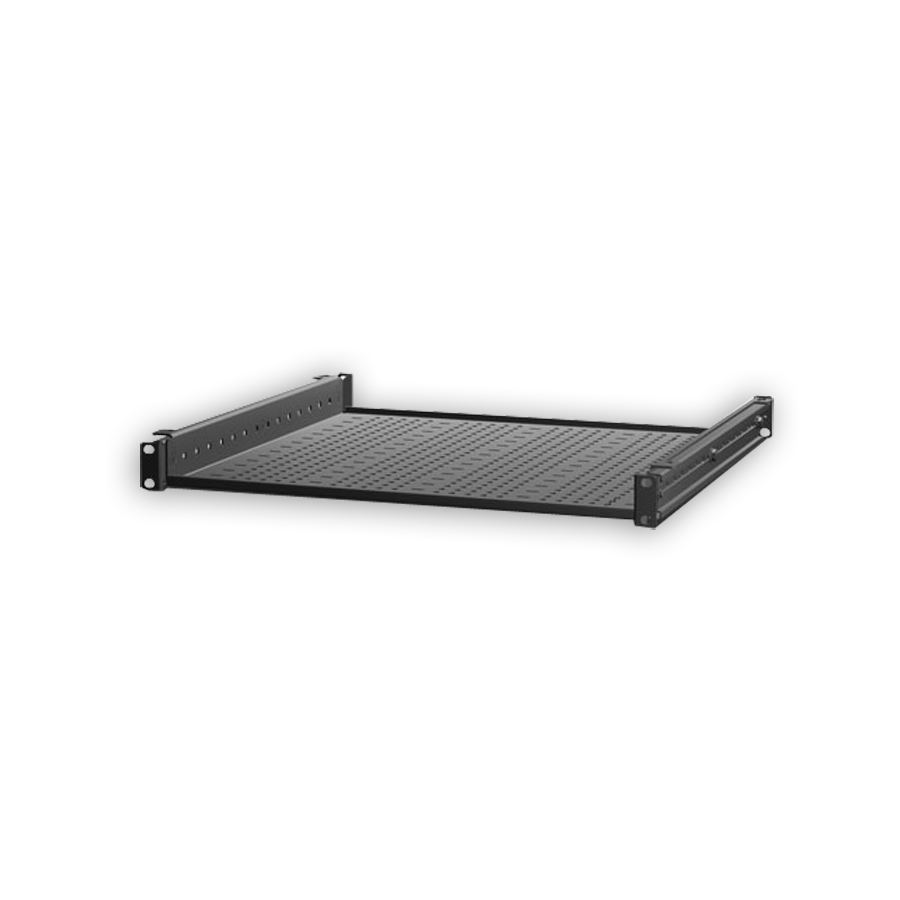 """APC AR8125 Adjustable Shelf 250lbs 16-24"""" Black"""