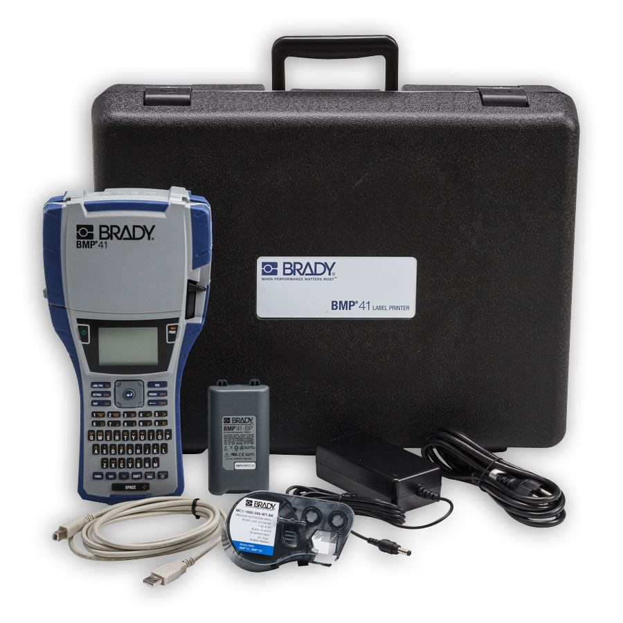 Brady BMP41-KIT BMP41 Label Maker Standard Package