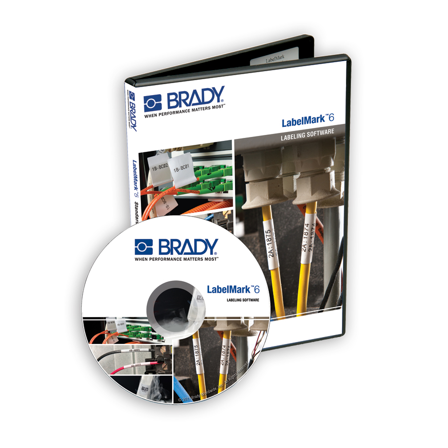 Brady LM6PROCD LabelMark 6 Professional Software - CD (single-user license)