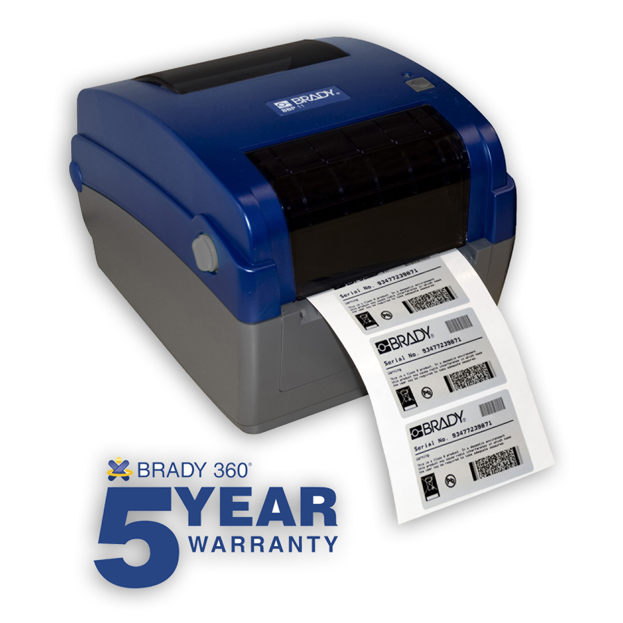 Brady BBP11-34L BBP11 300dpi Printer (ethernet is standard)
