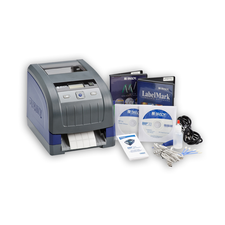"""Brady BBP33-C-LMP-MWS BBP«33 Label Printer with Auto Cutter, LabelMarkÖ Pro Software and MarkWareÖ Software"""