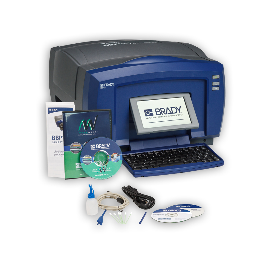 Brady BBP85-MWL BBP85 Sign & Label Printer* with Markware Lean Software