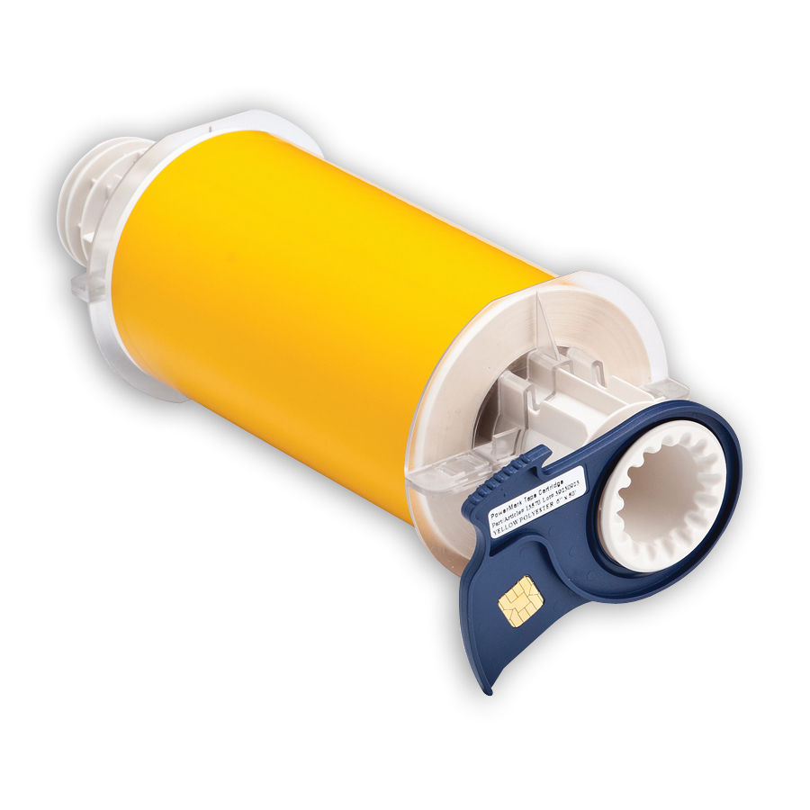 """""""Brady 13570 Low-Halide Polyester, B-569, Yellow, 6.000, 50ft., 1 roll (cont), 13511 Labels"""""""