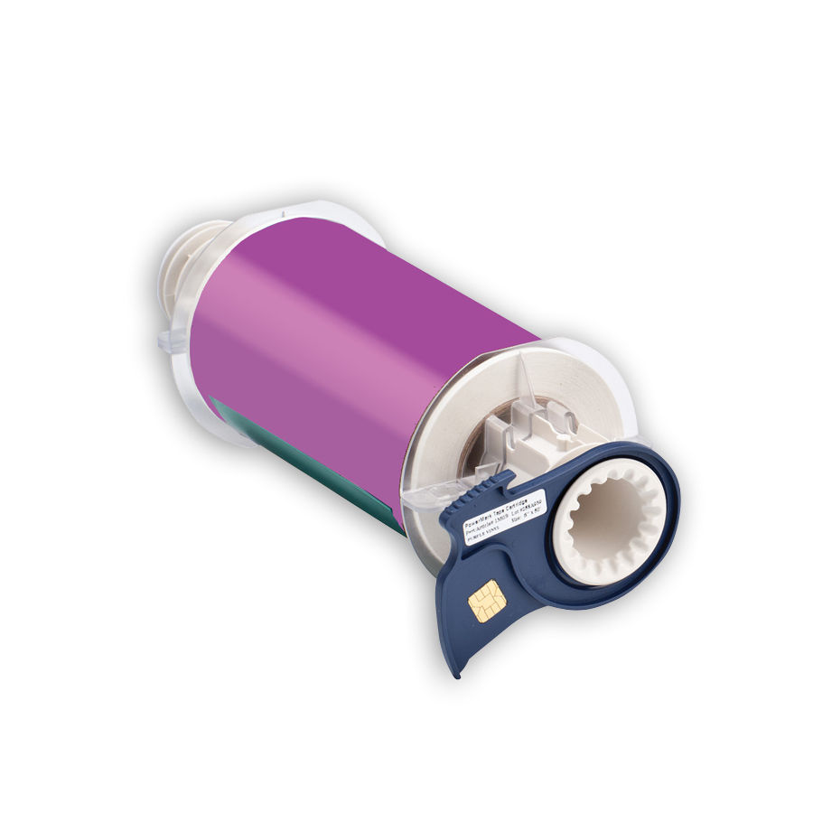 """Brady 13609 Indoor/Outdoor Grade Vinyl Tape, B-595, Purple, 6.000, 50ft., 1 roll, 13513 Labels"""