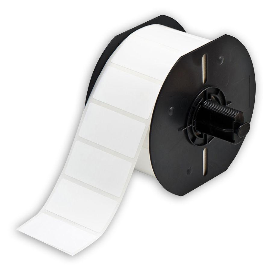 """Brady B33-17-483 PermaSleeve« HX Polyolefin Wire Marking Sleeves, White, 2.000, 1.000, 1.125, 2.200, 1, 1500 Labels"""