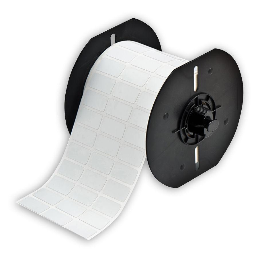 """""""Brady B33-5-486 Polyester Labels, Matte Silver, 1.000, 0.500, 1.075, 0.600, 3.350, 3, 5000 Labels"""""""