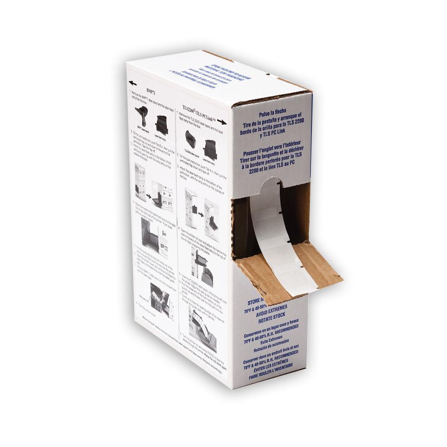"""Brady BPTL-19-423 TLS2200 Glossy Polyester Labels, (A) 1"""" x (B) 1"""""""