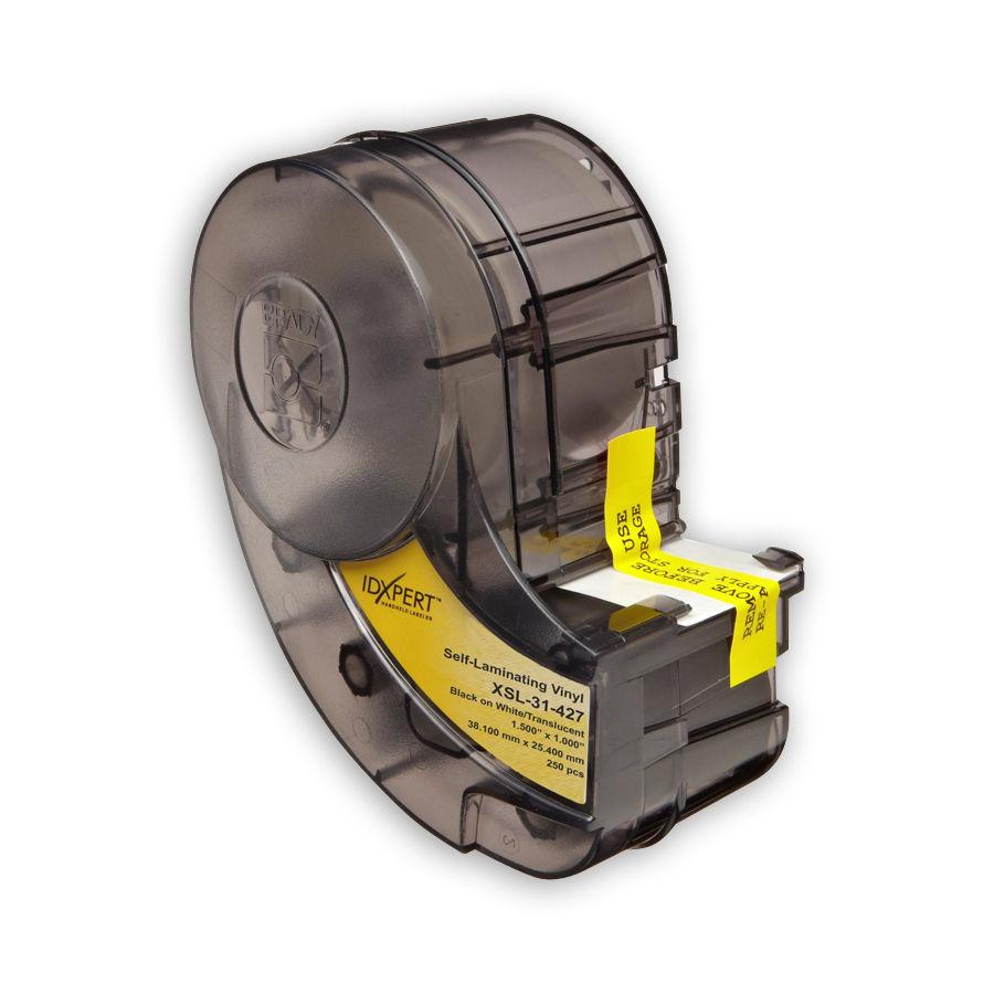 """Brady IDXPERT XSL-31-427 UTP Copper, Fiber, Coaxial, 1.000"""" x 1.500"""" x 0.500"""" 250 Labels"""