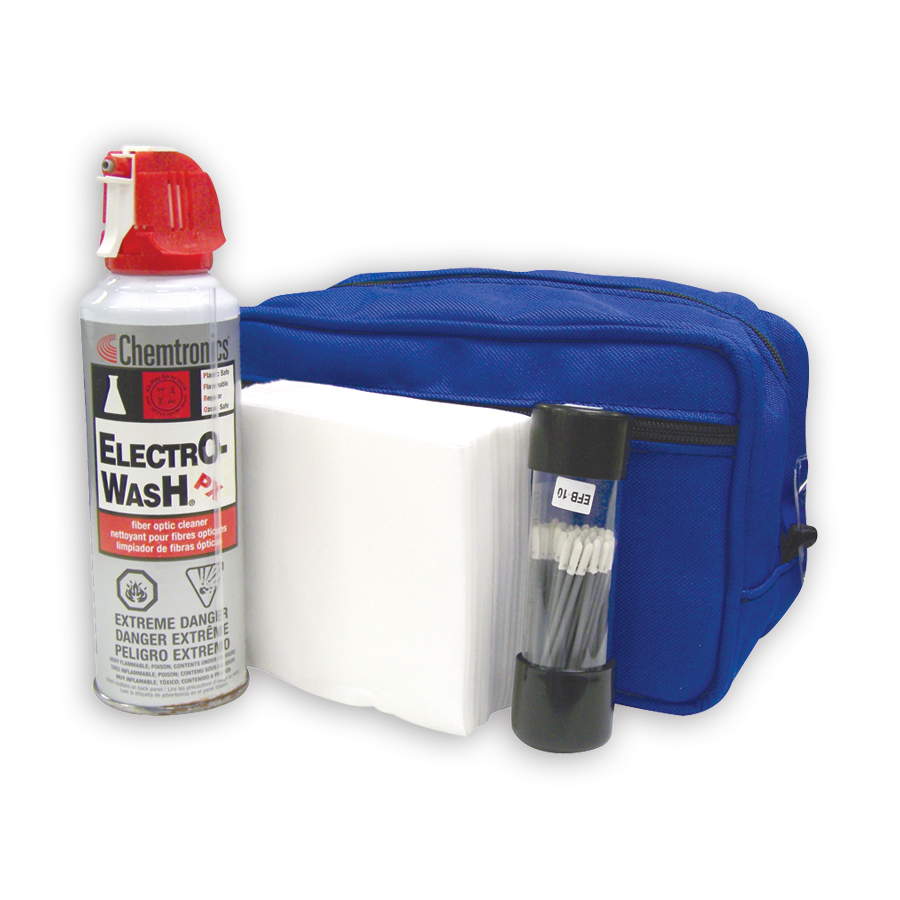 Chemtronics CFK1010 1 I & M fiber optic cleaning kit