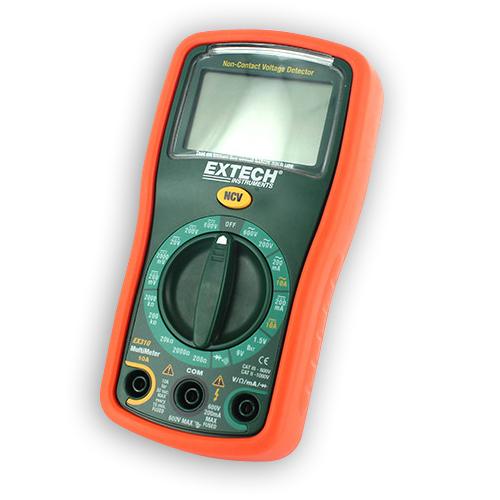Extech Ex310 Mini Digital Multimeter Voltage Detector