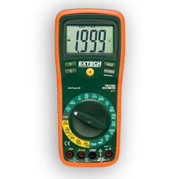 Extech EX411 Manual Ranging MultiMeters