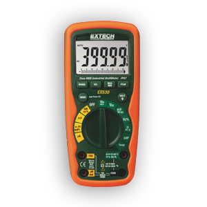 Extech EX530 Heavy Duty Industrial MultiMeters