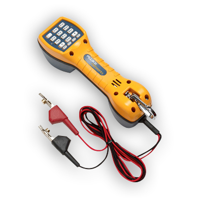 Fluke Networks 30800009 TS30 Test Set with Angled bed of Nails Clips