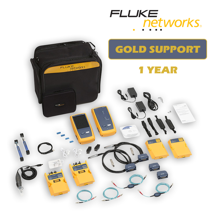 Fluke Networks DSX-5000Mi/GLD DSX-5000 with OLTS Multimode and Fiber Inspection with 1 year Gold Support
