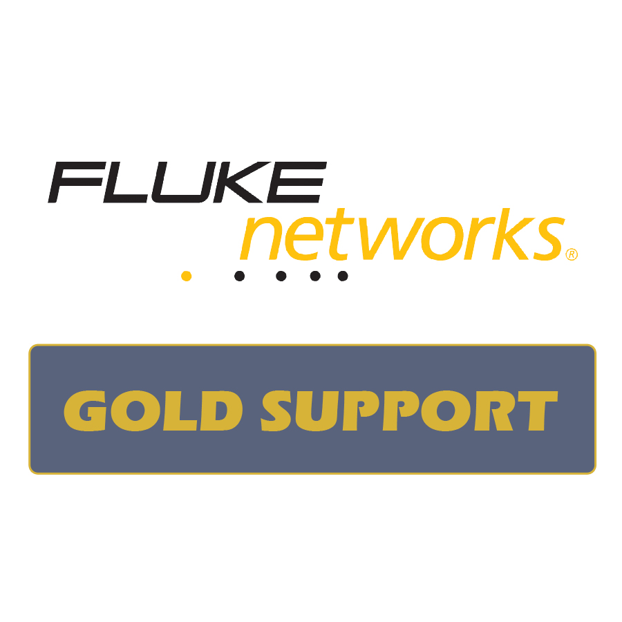 Fluke Networks GLD-DSX-5000Qi 1 year Gold Support DSX w/ Quad OLTS INSP