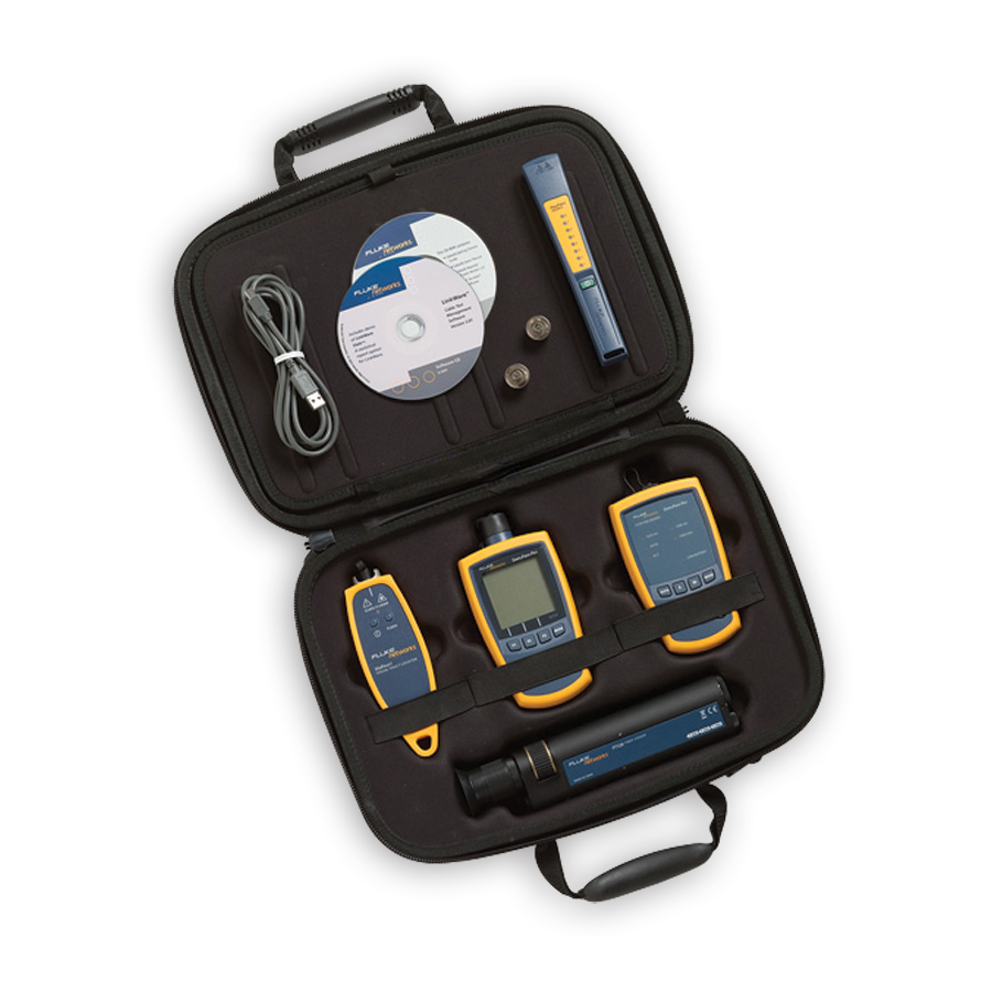 Fluke Networks FTK1300 Full-Featured Verification Kit