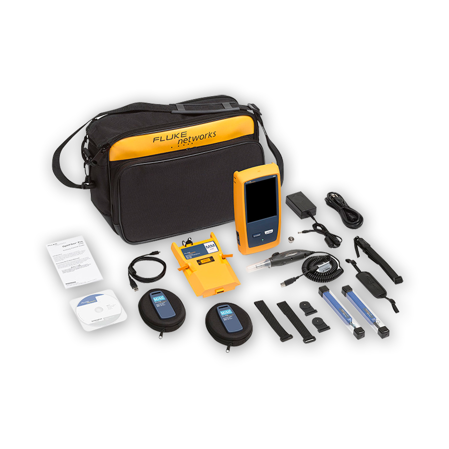 Fluke Networks OFP-100-MI/GLD Kit bundled with 1-year of gold support (available in the U.S. only)