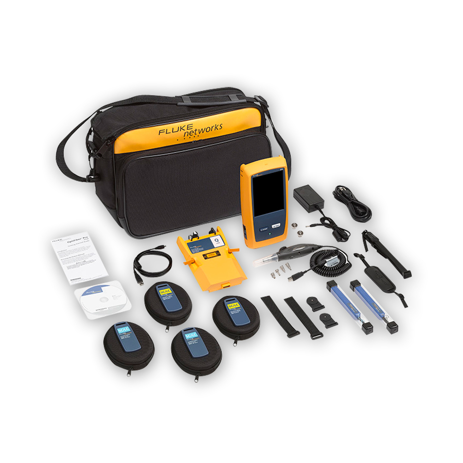 Fluke Networks OFP-100-QI/GLD Kit bundled with 1-year of gold support (available in the U.S. only)