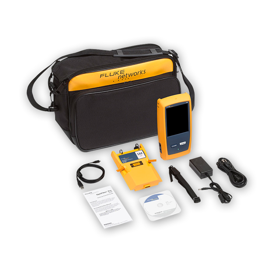 Fluke Networks OFP-100-S/GLD Kit bundled with 1-year of gold support (available in the U.S. only)