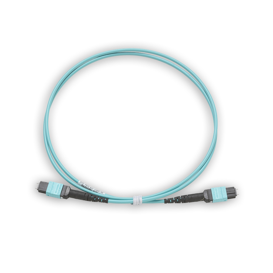 """""""Fluke Networks TRC-MPO-PP-B 1 m test cord with MPO/MPO, Pinned/Pinned, Type B polarity"""""""
