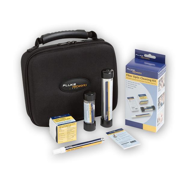 Fluke Networks NFC-Kit-Case Fiber Optic Cleaning Kit