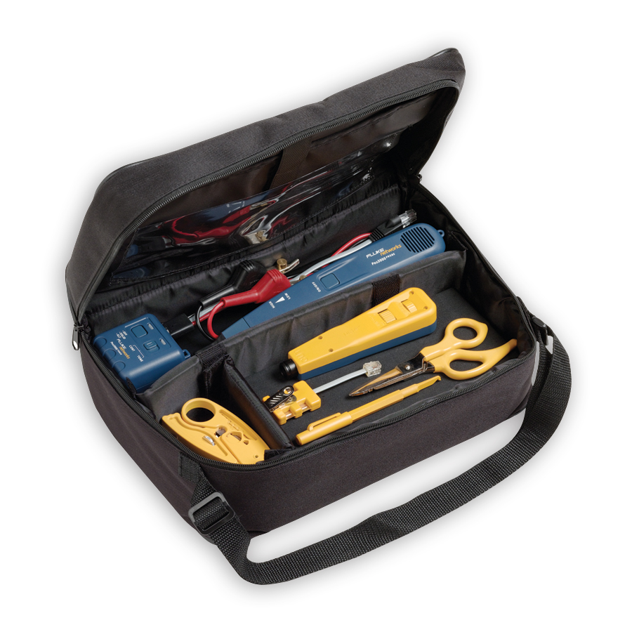 Fluke Networks 11289000 Electrical Contractor Telecom Kit