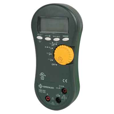 Greenlee DM-350 TRMS Digital Multimeter