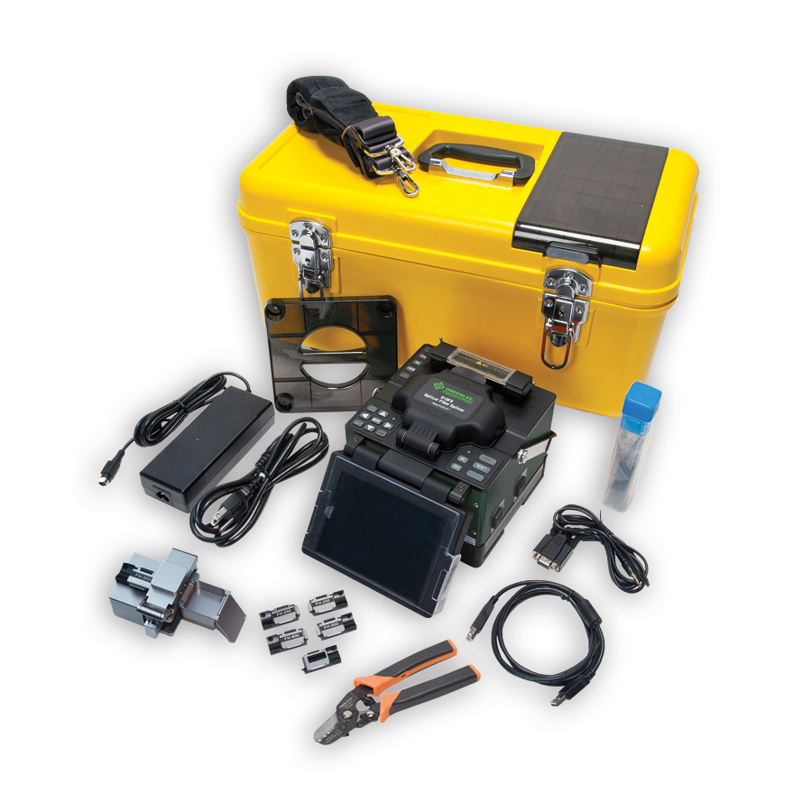 Greenlee 910FS-KIT2 Contractor Fusion Splicer Kit