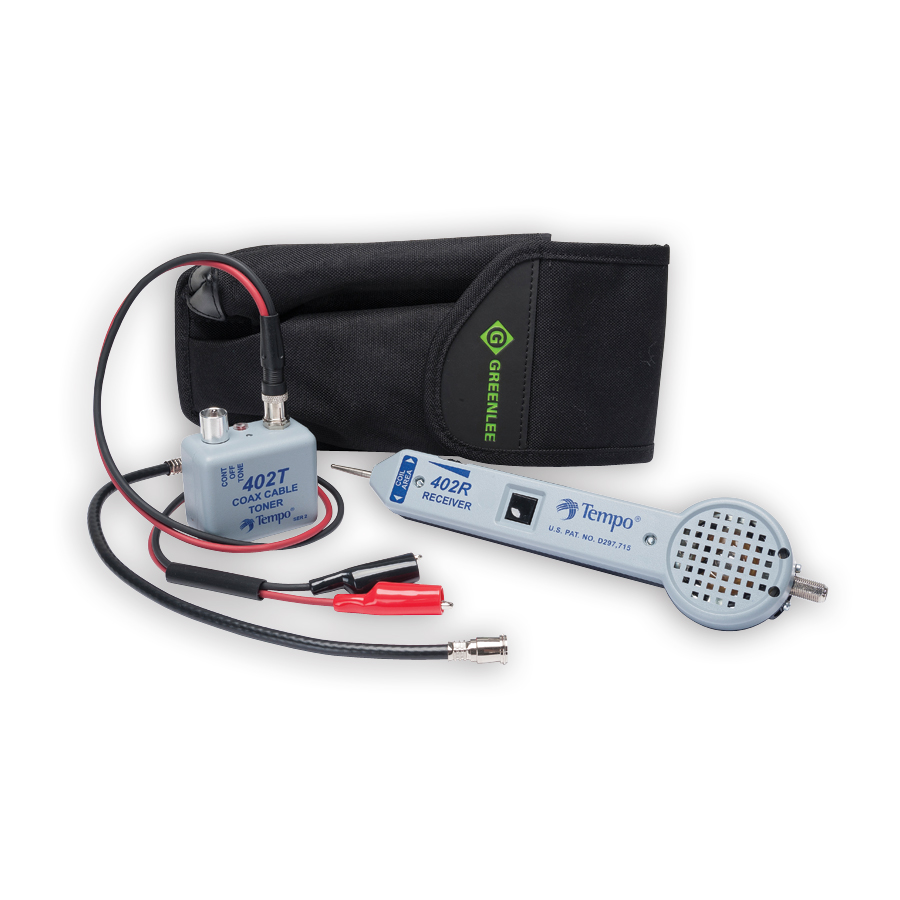 Greenlee 402K Progressive CATV Tester