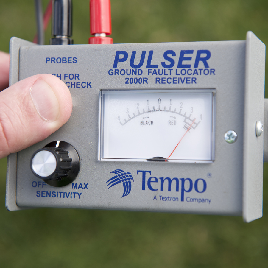 Ground Fault Locator : Greenlee tempo pe pulser fault locator