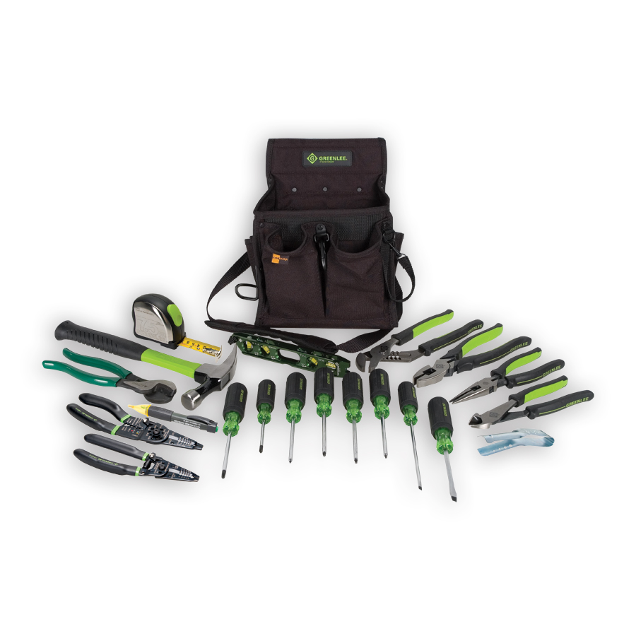 Greenlee 0159-23 Journeyman's Tool Kit - Metric